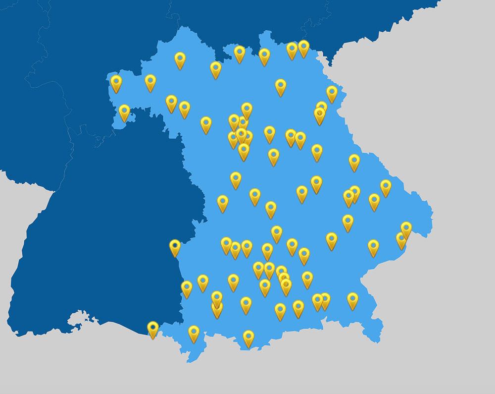 Live coronavirus covid19 karte echtzeit bayern